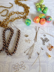 Beads and baubles.