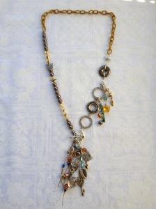 Finished necklace.